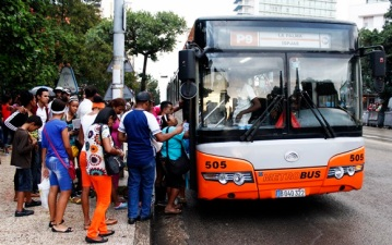 bus cuban transportation